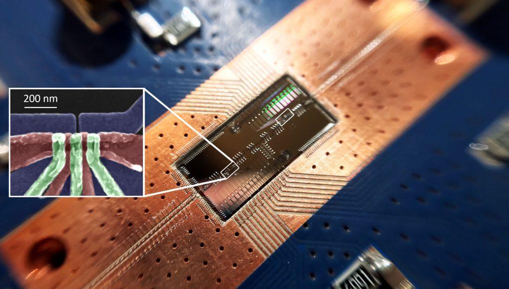 In leap for quantum computing silicon quantum bits establish a long distance relationship