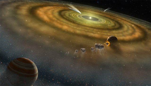 Meteorites lend clues to solar systems origin