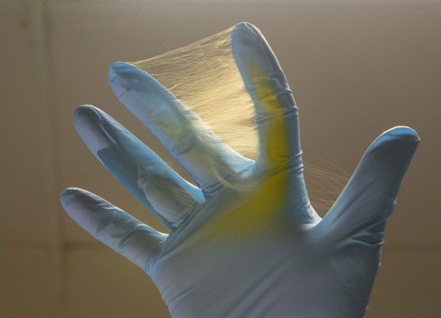 New treatment for brain tumors uses electrospun fiber scaled