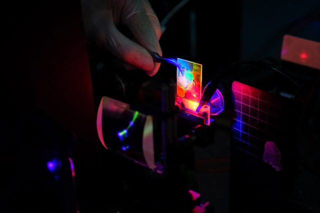 Quantum dot lasers move a step closer with electric pumping development scaled