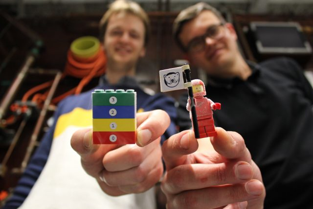 The coolest LEGO in the universe scaled