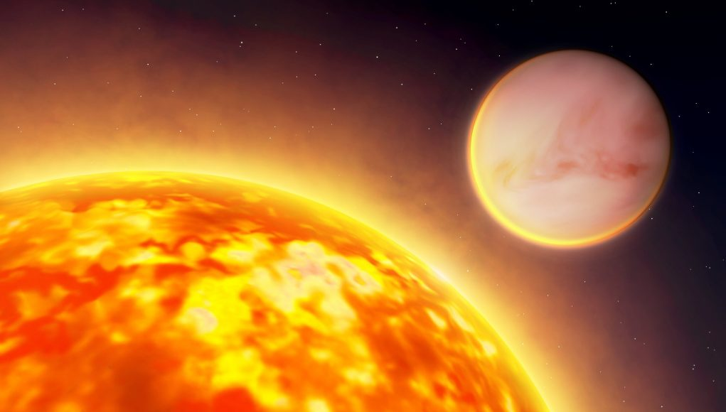 Water common—yet scarce—in exoplanets scaled