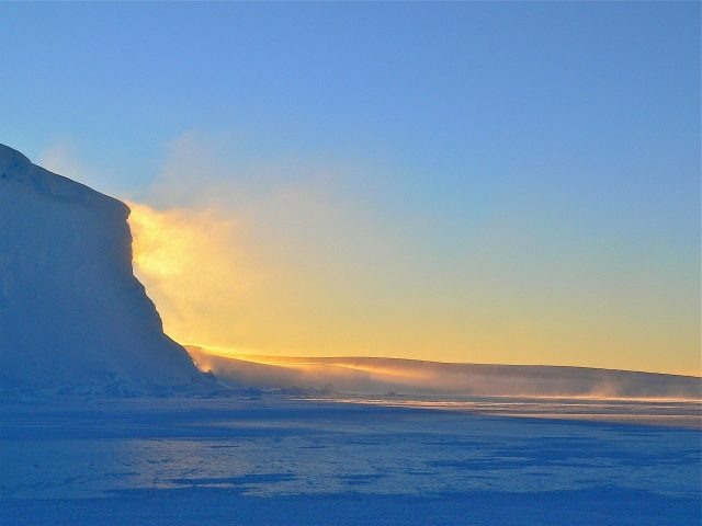 Antarctic waters Warmer with more acidity and less oxygen