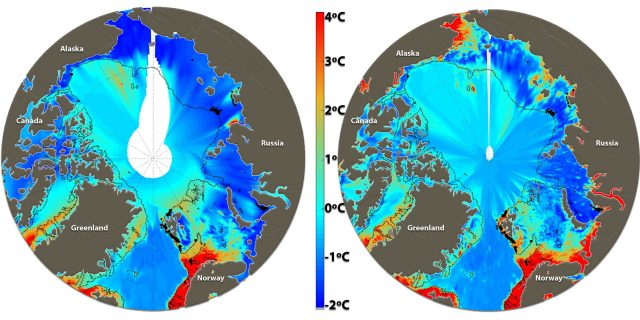 Climate gas budgets highly overestimate methane discharge from Arctic Ocean scaled