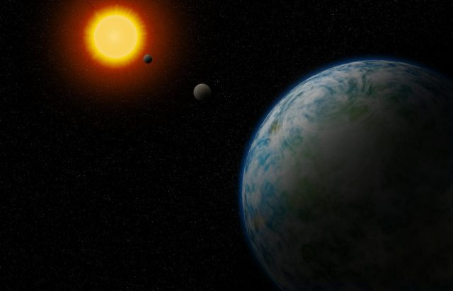Cold Neptune and two temperate super Earths found orbiting nearby stars