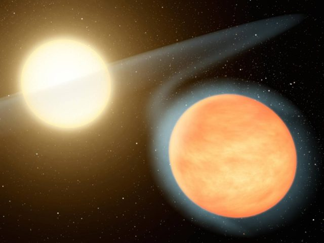 Planet WASP 12b is on a death spiral say scientists