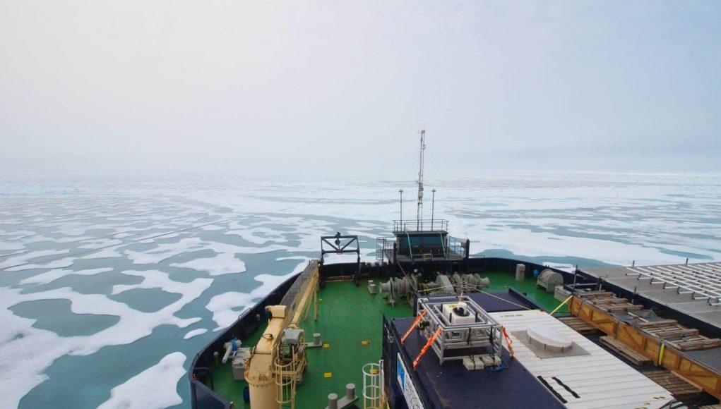 Quantifying Methane Released from Arctic Ocean