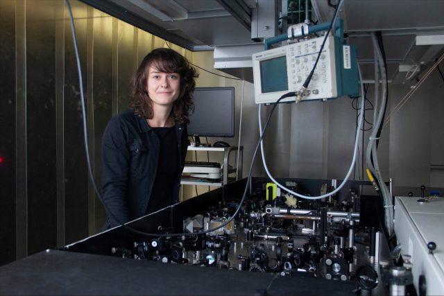 Record breaking terahertz laser beam
