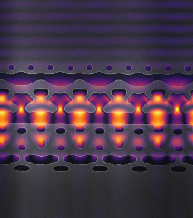 Researchers build a particle accelerator that fits on a chip