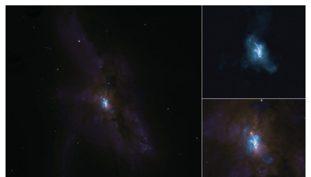The turbulent life of two supermassive black holes caught in a galaxy crash
