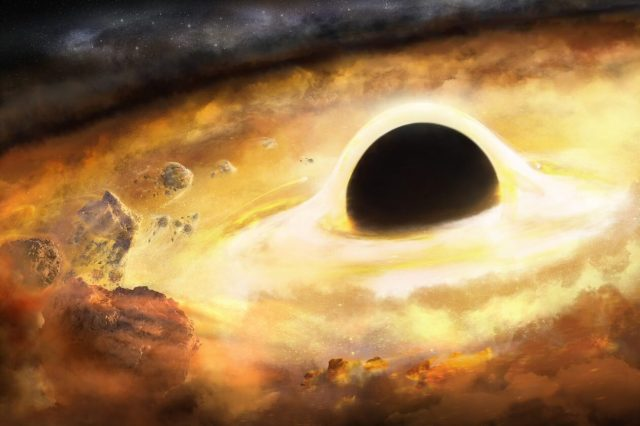 Astronomers search for gravitational wave memory