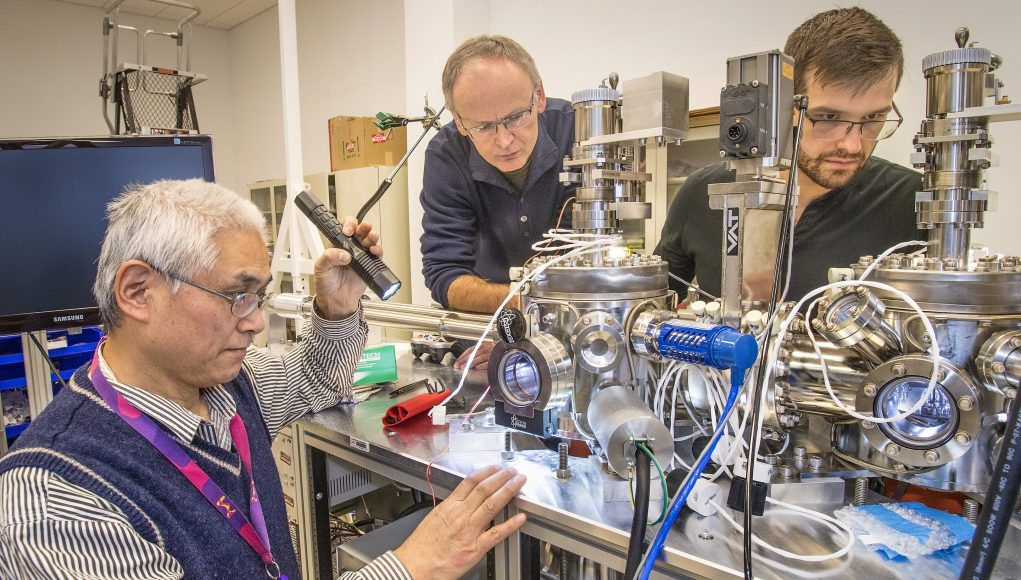 Making high temperature superconductivity disappear to understand its origin scaled