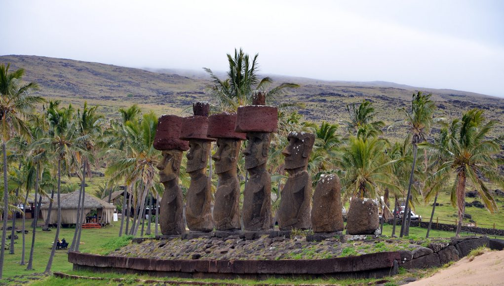 Researchers revise timing of Easter islands societal collapse