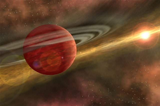 Scientists discover the nearest known baby giant planet