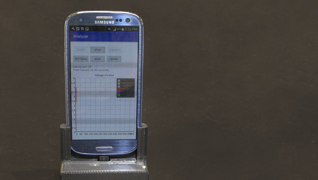 Smartphone lab delivers test results in spit second