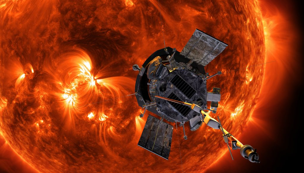 Team identifies low energy solar particles from beyond Earth near the Sun scaled