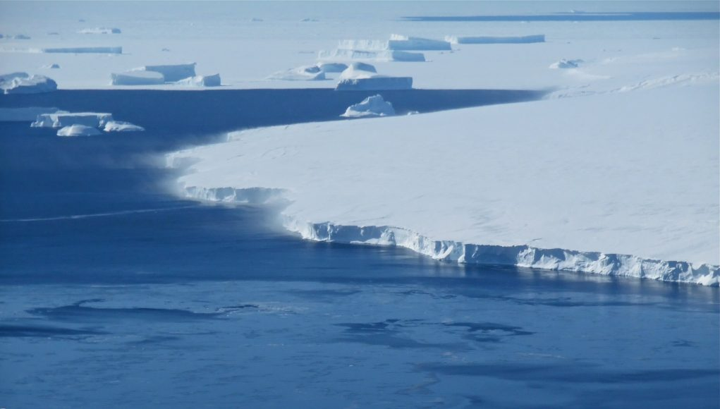 Warming oceans could cause Antarctic Ice Sheet collapse sea level rise scaled