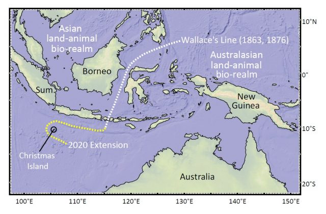 Christmas Island discovery redraws map of life