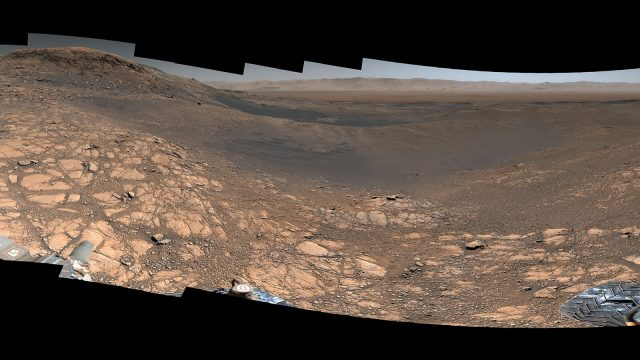 Curiosity Mars rover snaps its highest resolution panorama yet