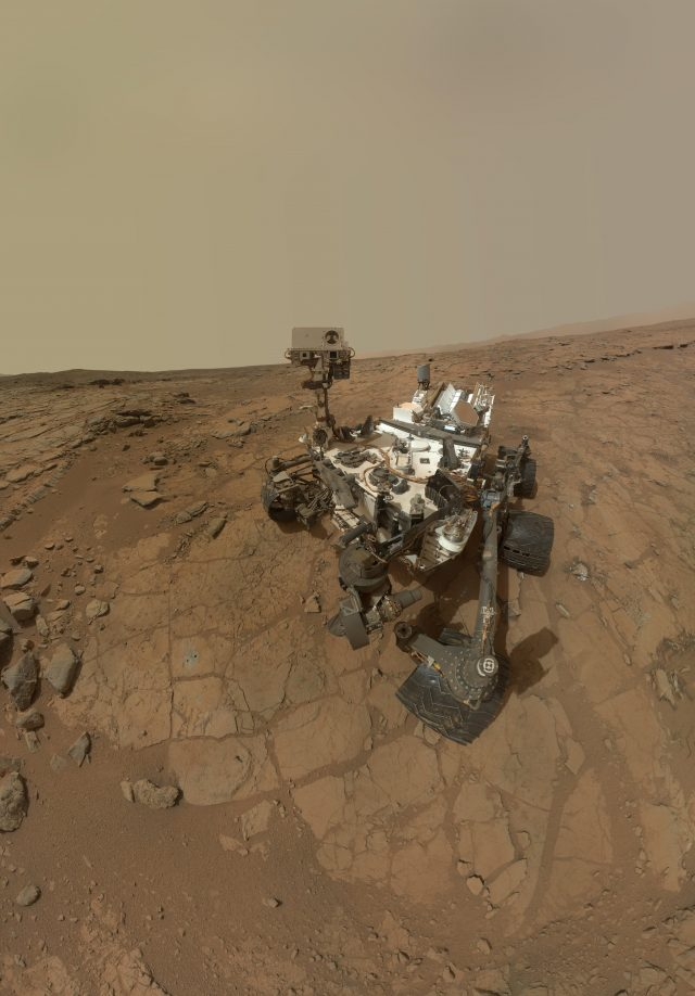 Organic molecules discovered by Curiosity Rover consistent with early life on Mars study scaled
