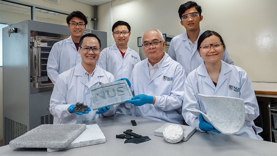 Researchers engineer the worlds first aerogels made from scrap tires