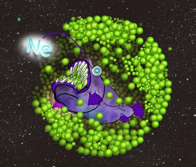 Electron eating neon causes star to collapse