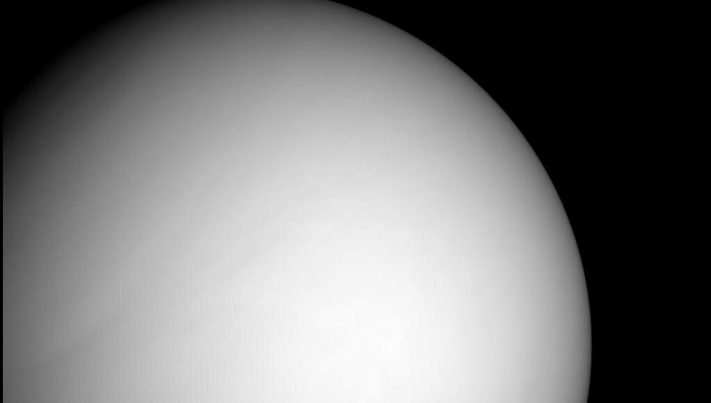 Lucky MESSENGER data upends long held idea about Venus atmosphere