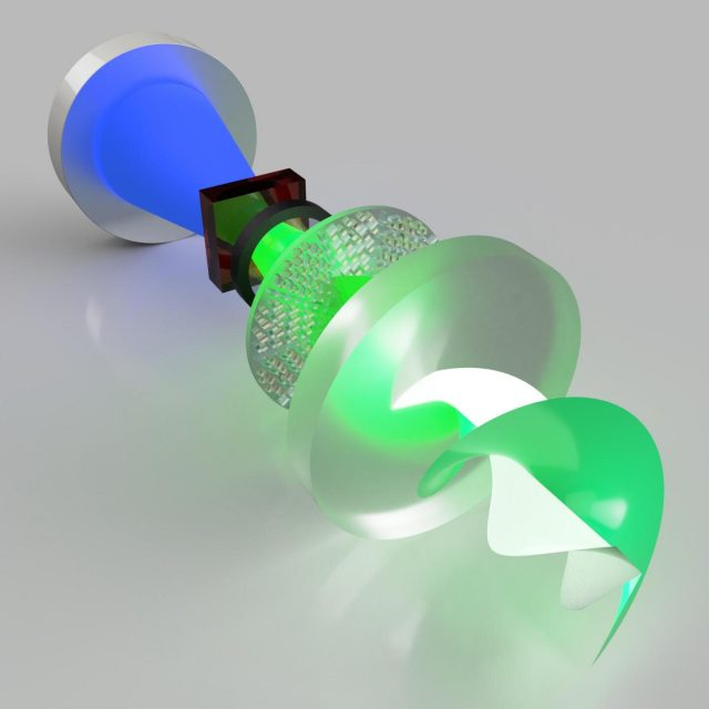 New metasurface laser produces worlds first super chiral light