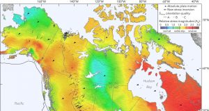 Seismic map of North America reveals geologic clues earthquake hazards