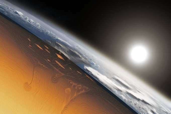 Tectonic plates started shifting earlier than previously thought scaled