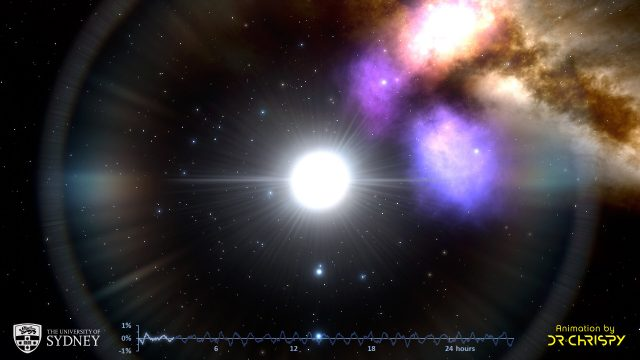 Astronomers find regular rhythms among pulsating stars