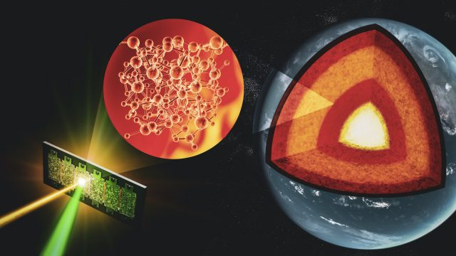 Probing materials at deep Earth conditions to decipher Earths evolutionary tale