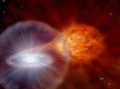 Class of stellar explosions found to be galactic producers of lithium