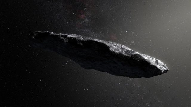 Mysterious interstellar visitor was probably a dark hydrogen iceberg not aliens