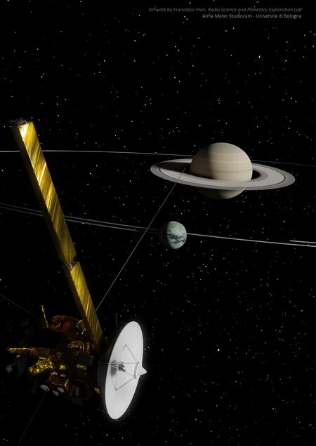 Titan is migrating away from Saturn 100 times faster than previously predicted