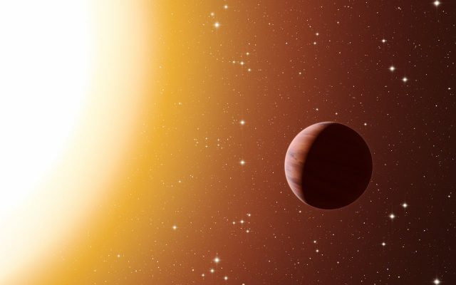 Astronomers see unexpected molecule in exoplanet atmosphere