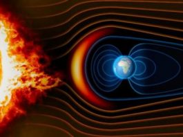 How does Earth sustain its magnetic field