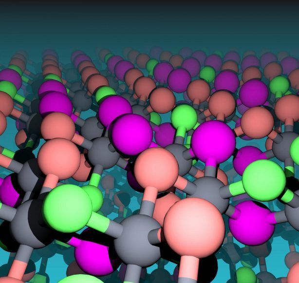 Manipulating non magnetic atoms in a chromium halide enables tuning of magnetic properties