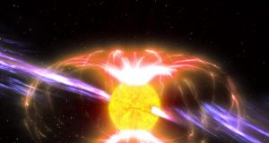 Mysterious spinning neutron star detected in the Milky Way proves to be an extremely rare discovery