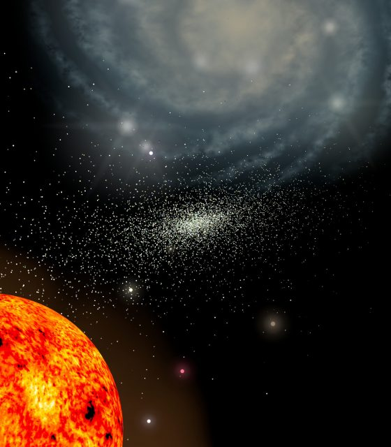 Remnant of ancient globular cluster thats the last of its kind
