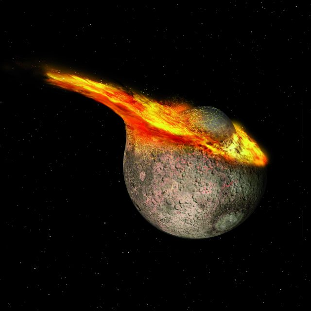 Researchers find younger age for Earths moon
