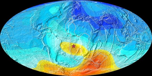 Study reveals strange magnetic behaviour 8 11 million years ago
