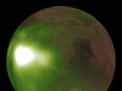 NASAs Maven observes Martian night sky pulsing in ultraviolet light