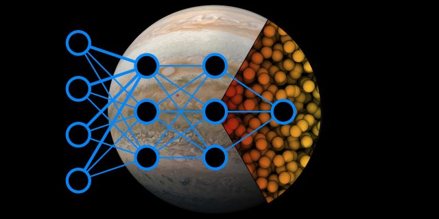 AI used to show how hydrogen becomes a metal inside giant planets