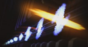 Attosecond pulses reveal electronic ripples in molecules