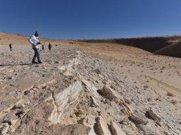 Human footprints dating back 120000 years found in Saudi Arabia