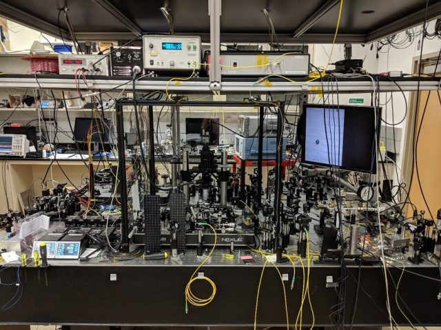 Researchers demonstrate record speed with advanced spectroscopy technique