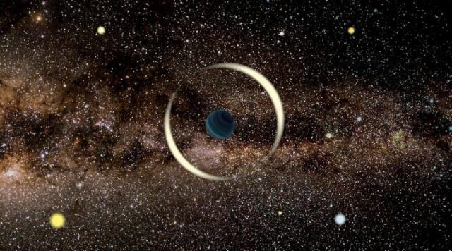 An Earth sized rogue planet discovered in the Milky Way