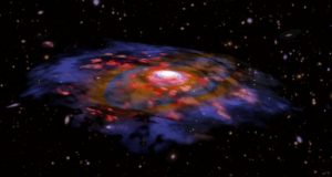 Galaxies in the infant universe were surprisingly mature