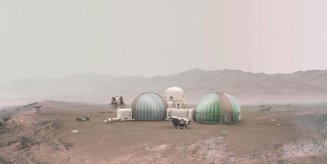 Geologists simulate soil conditions to help grow plants on Mars